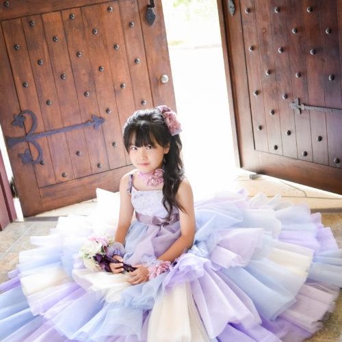 7歳 七五三 ドレス 記念日