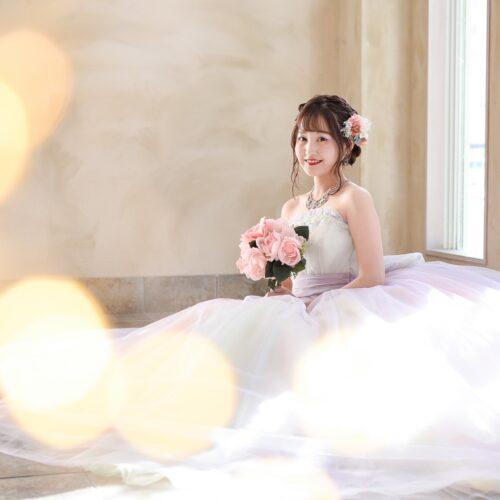 成人式 ウェディングドレス 記念日 スタジオ撮影