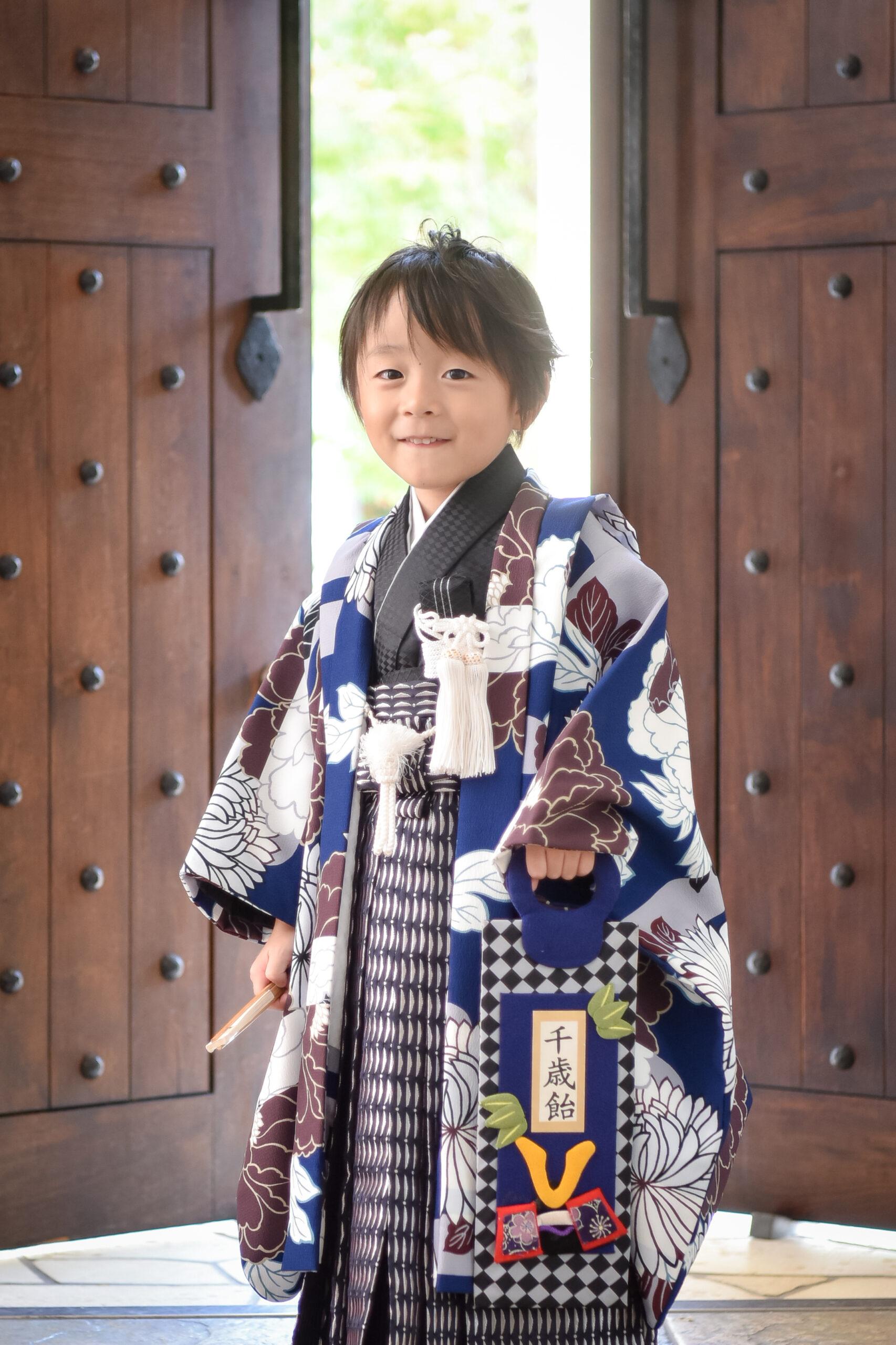 5歳 七五三 ロケーション撮影 753 絹屋 熊谷 フォトスタジオ 写真館