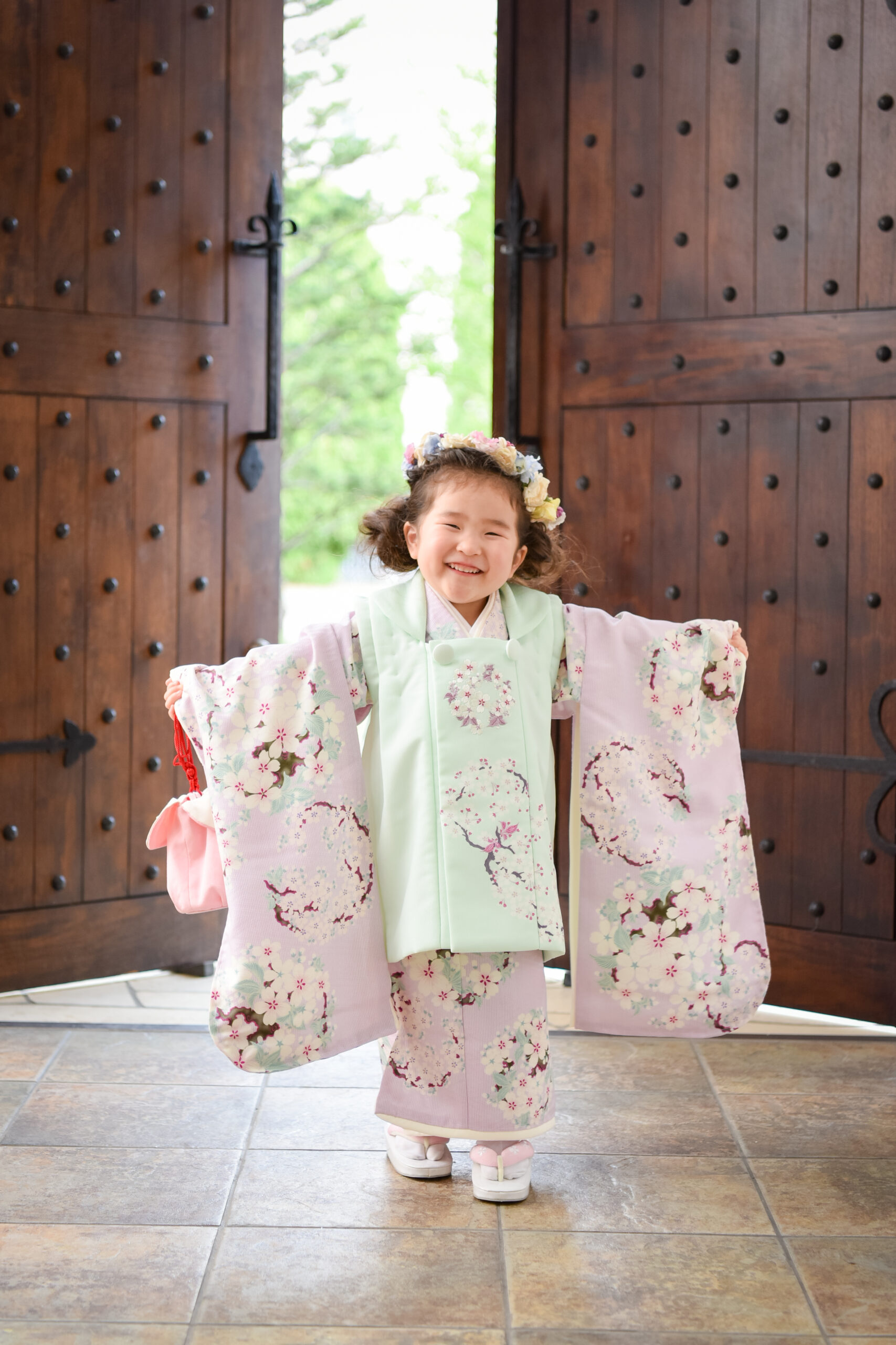 3歳 七五三 被布 ロケーション撮影 熊谷 深谷 東松山